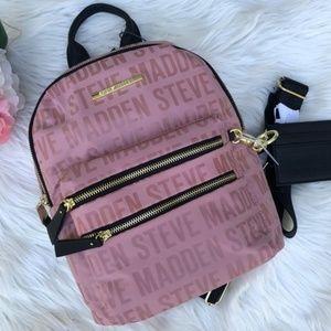 NWT Steve Madden Blush BMIDI Backpack